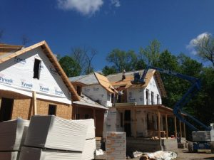 New buildings going up in Chagrin Falls