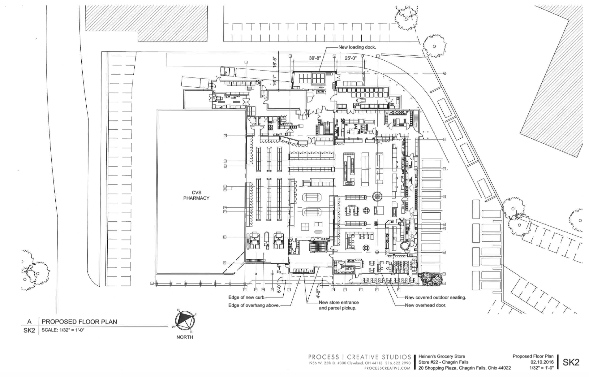 Heinen S Proposed Floor Plan The Village Of Chagrin Falls